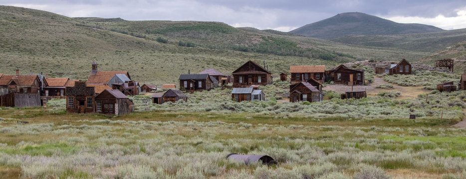 The Ghost Town of Bodie Located in California's Eastern Sierra Mountains