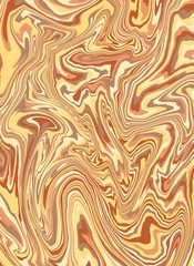 Marble texture. Divorces of colored paints. Abstract background of mixed liquid oils. Vector illustration