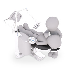 get a teethcleaning at the dentist