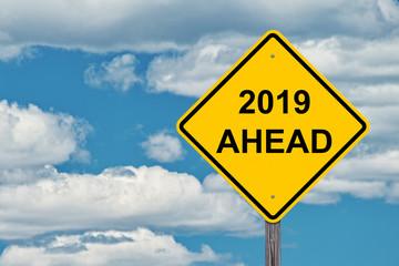 2019 Ahead Sign