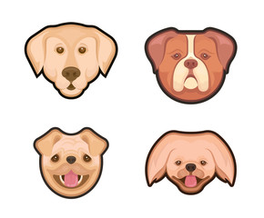 Collection Emblems of Dogs