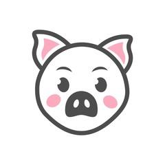Рыло свиньи. Иконка.