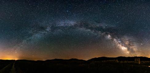 Milky way in Spain