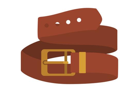 masculine elegant belt icon vector illustration design