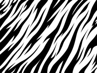 stripe animal tiger fur texture pattern white black