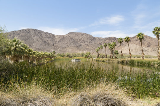 Lake at Zzyzx in California