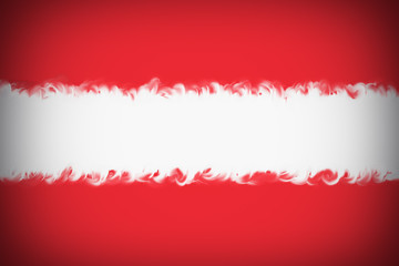 Beautiful Austrian flag close up