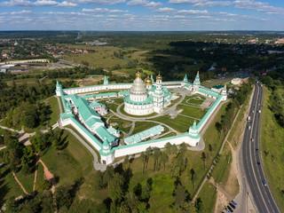 New Jerusalem Monastery, Russia. Aerial