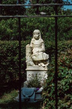 Gracie Watson Cemetery Statuary Statue Bonaventure Cemetery Savannah Georgia