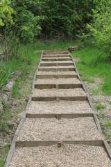 New footpath steps