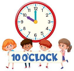 ten o'clock with children
