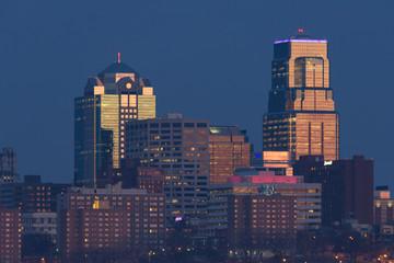 Kansas City from Strawberry Hill