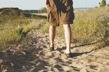 Walk in the Sand