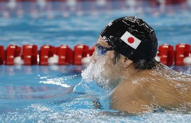 Swimming - 2018 Asian Games - Men's 400m Individual Medley heats