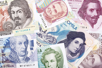 Money from Italy, a business background