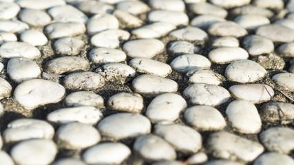 walkway white stone texture background