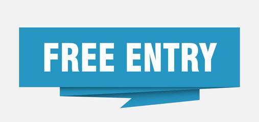 free entry