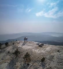 Fototapete - bald peak