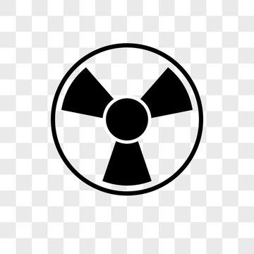 Toxic vector icon on transparent background, Toxic icon