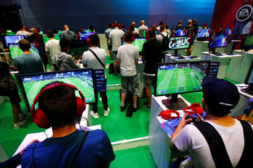 First public day of the computer games fair Gamescom in Cologne