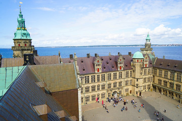 Kronborg is a castle and stronghold in the town of Helsingør, Denmark.
