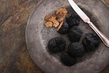 Fototapeta fresh black truffle obraz