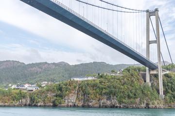 Brücke bei Bergen in Norwegen