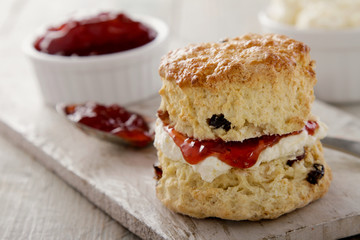 fresh baked scones
