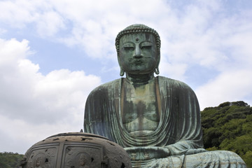 Buddha representación en Kamakura