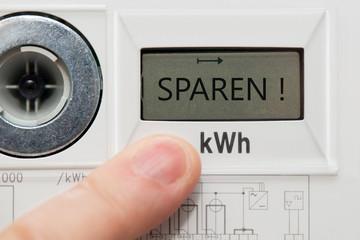Stromzähler - Digital - SPAREN