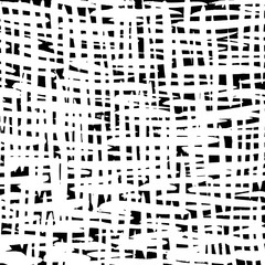 White and black grunge pattern. Background. Brush. Vector.