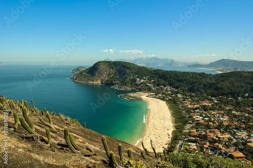 cc252f3f1 Paradisiac beach in Rio de Janeiro - Praia vista de cima (Itacoatiara -  Niterói)