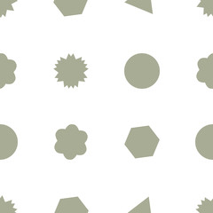 Background abstract geometric  pattern for design. Shape, details, illustration & messy.