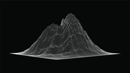 Vector 3D Terrain