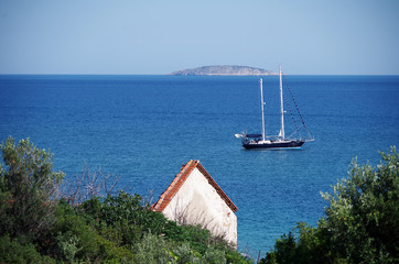 View Of The Summer Sea