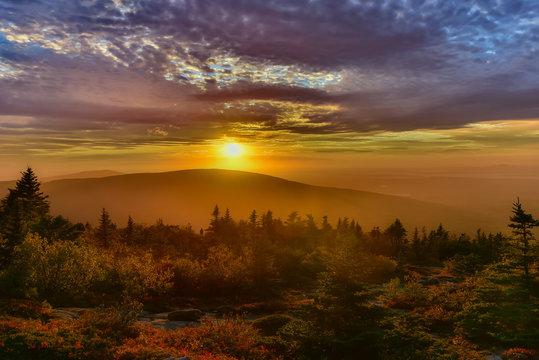 Cadillac Mountain Sunset, Acadia National Park