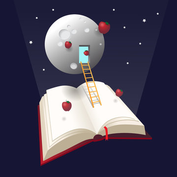 Going to the moon, fly with your experience