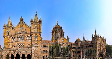 The Mumbai Train Station in Mumbai, India.