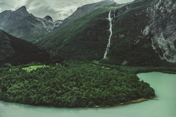 Wall Mural - Norwegian Glacial Landscape