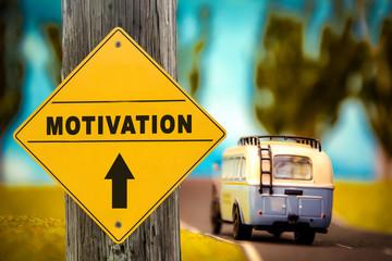 Schild 307 - Motivation