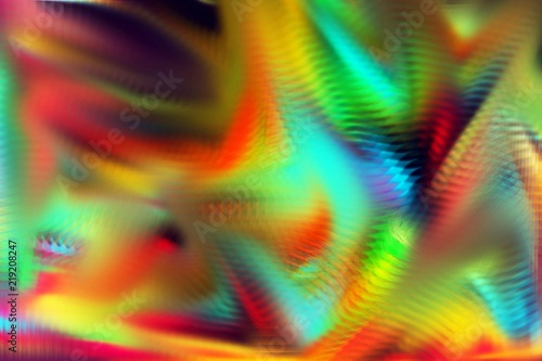 Vivid Wild Mixed Varied Abstract Surreal Explosion Colorful Background Image Wallpaper