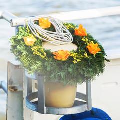 Die letzte Reise, Urne auf dem Weg zur Seebestattung