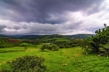 Clouds Over San Ramon, Costa Rica