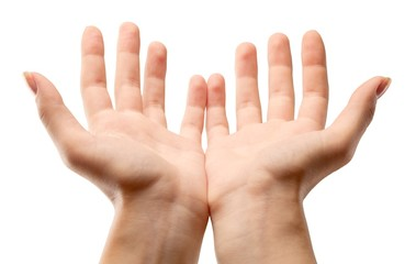 Hands Cupped