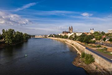Elbpanorama Magdeburg