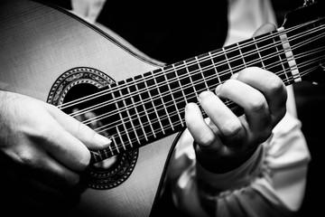 Bandurria guitarra musica