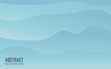 Sky blue abstract background vector illustration. Simple background design
