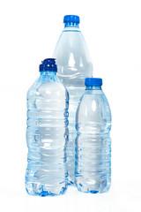 mavi su şişeleri