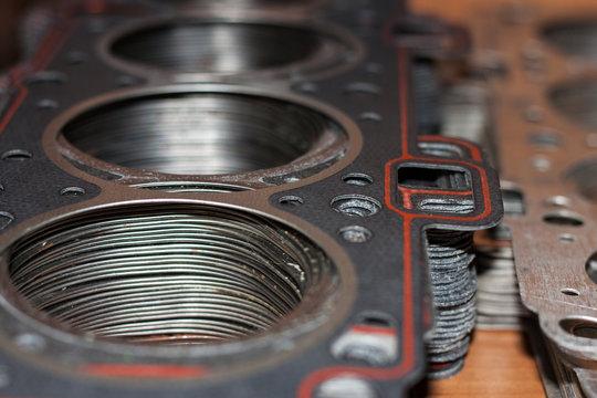 Cylinder head gasket car engine