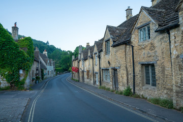 Castle Combe in Wiltshire is one of England's most picturesque villages and a popular destination for tourists.
